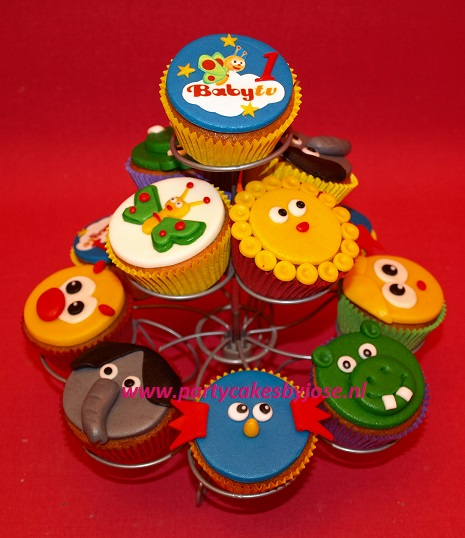 baby tv cupcakes